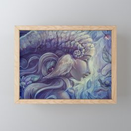 Faun - Cheva Framed Mini Art Print