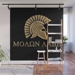 Molon lave-Spartan Warrior Wall Mural
