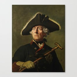 Frederick the Great Painting Canvas Print