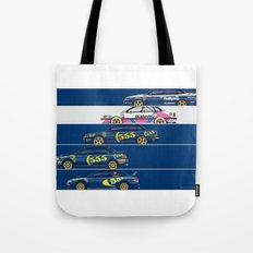 Colin McRae, The Subaru Years Tote Bag