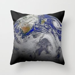 Southern Africa and the surrounding oceans Throw Pillow