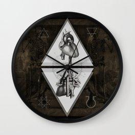 Alchemy Of heart Wall Clock