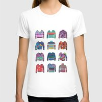 sweater T-shirts featuring Sweater Poster by Valeriya Volkova