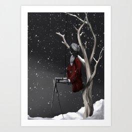 Boule à neige Art Print