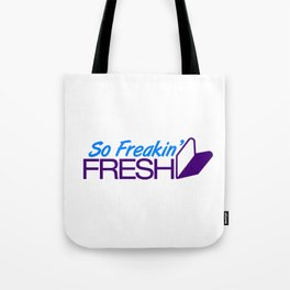 So Freakin' Fresh v7 HQvector Tote Bag