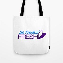 So Freakin' Fresh v7 HQvector Tote Bag