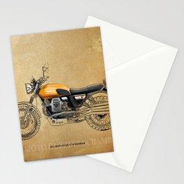 226 - 2012 MOTO GUZZI V7 SCRAMBLER Stationery Cards