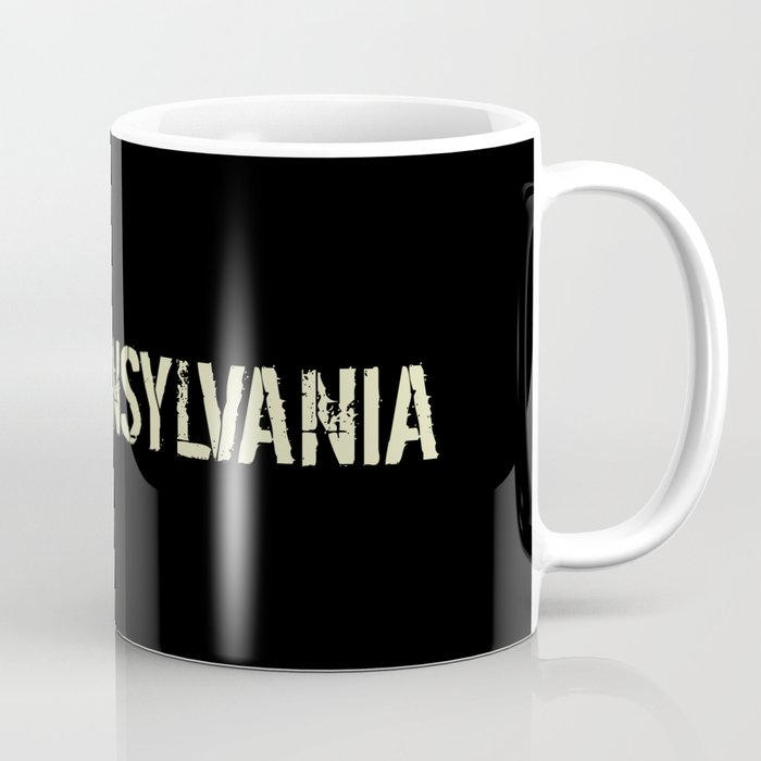 Black Flag: Pennsylvania Coffee Mug