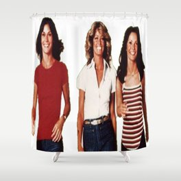 Charlies angels Shower Curtain