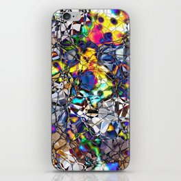 Colorful Web of Geometry iPhone Skin