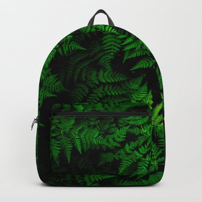 Deep Forest Ferns Backpack