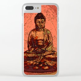 Looking For Buddha 06 Clear iPhone Case