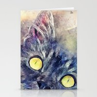kitty Stationery Cards featuring Kitty by jbjart