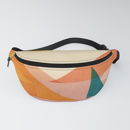 Abstraction_Lake_Sunset Fanny Pack