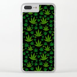 Infinite Weed Clear iPhone Case