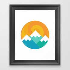 Mountain Alternative Framed Art Print
