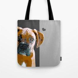 Boxer lovers Tote Bag