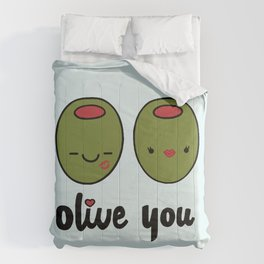 Olive You Comforters