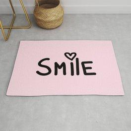 Smile Pink Rug