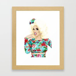 Katya Zamo, Jet Set Eleganza, RuPaul's Drag Race Queen Framed Art Print