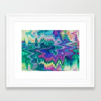 trippy Framed Art Prints featuring Trippy by Dorothy Pinder