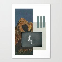 Crash Test Mountain Canvas Print