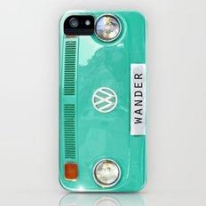 Wander wolkswagen. Summer dreams. Green Slim Case iPhone (5, 5s)