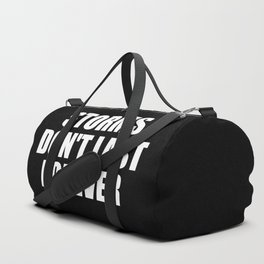 storms don't last forever quote Duffle Bag