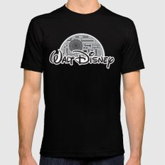 Walt Dislucasny Black SMALL Mens Fitted Tee