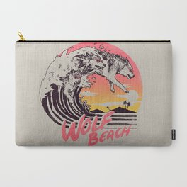 Wolf Beach Carry-All Pouch
