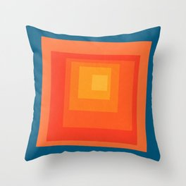 Homage to the Square Throw Pillow