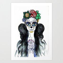 skull candy -  dark paradise Art Print