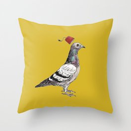 Unflappable Throw Pillow
