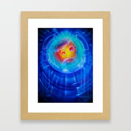 Space and time 6 Framed Art Print