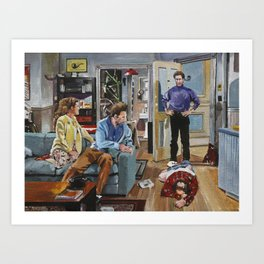 And You Want to be my Latex Salesman! Seinfeld Art Prints Art Print
