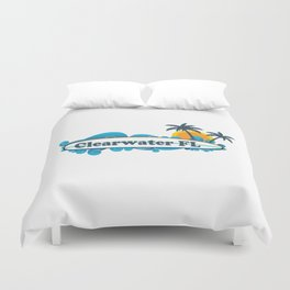 Clearwater Beach - Florida. Duvet Cover