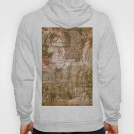 Vintage & Shabby Chic - Victorian ladies pattern Hoody
