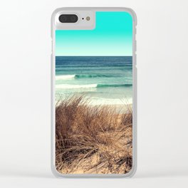 From the dunes Clear iPhone Case
