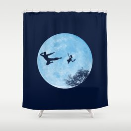Go Big or Phone Home Shower Curtain