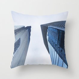 Business office building in London Throw Pillow