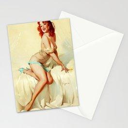 Pin Up Girl Bedside Manner Gil Elvgren Stationery Cards