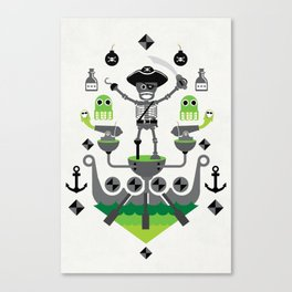 One Eyed Willie Canvas Print