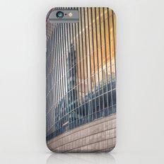 Sunset on modern architecture  iPhone 6s Slim Case