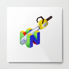 Stupid logo Metal Print