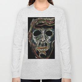 Death Mask Long Sleeve T-shirt
