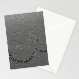 Even Te Mighty Ocean Can Not Was Away love Stationery Cards