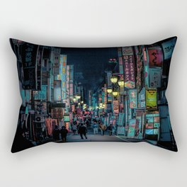 Tokyo Nights / Kabukicho Nights / Liam Wong Rectangular Pillow