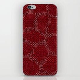 Abstract Skin of the Diamondback Something iPhone Skin