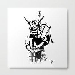 AniMusic (SCOTTISH COW) Metal Print
