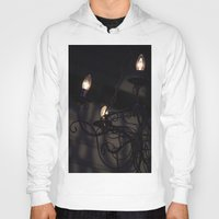 chandelier Hoodies featuring Chandelier Shadows by Elyse Victoria
